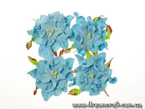 Хризантеми 1 см небесно-блакитні