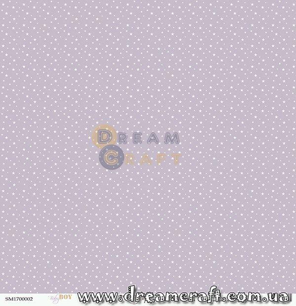 Лист односторонней бумаги 30x30 от Scrapmir Сны Baby Boy 1 шт SM1700002