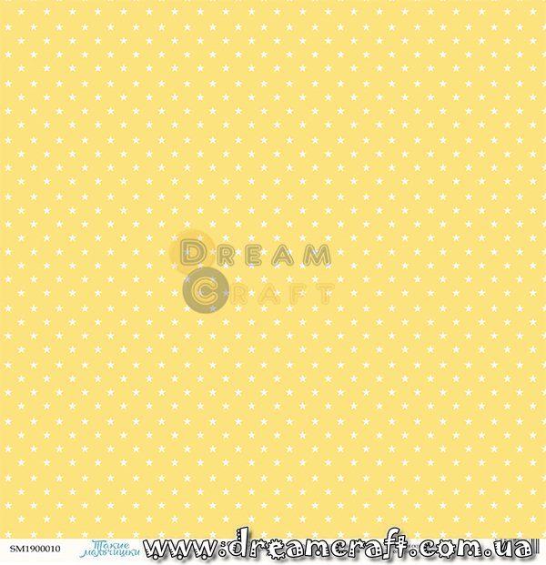 Лист односторонней бумаги 30x30 от Scrapmir Звездочки Такие Мальчишки