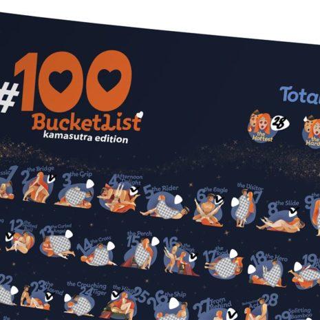 100 BUCKETLIST KAMASUTRA Edition 001
