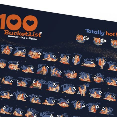 100 BUCKETLIST KAMASUTRA Edition 002