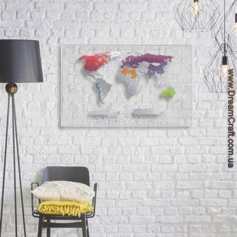 1dea Travel Map AIR World 001