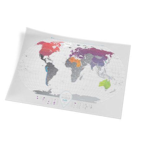 1dea Travel Map AIR World 003