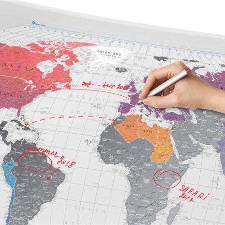 1dea Travel Map AIR World 006