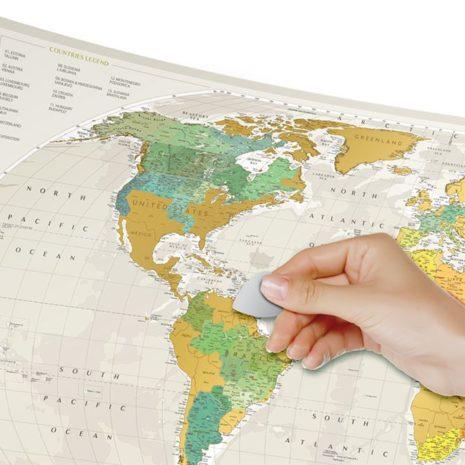 1dea Travel Map Geography World 001
