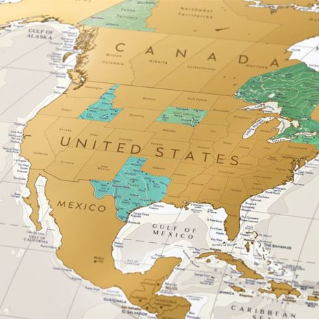 1dea Travel Map Geography World 002