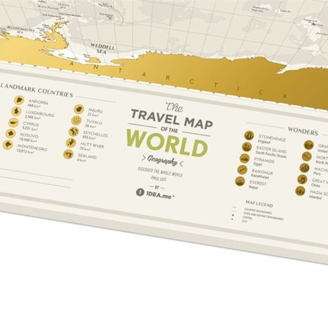 1dea Travel Map Geography World 003