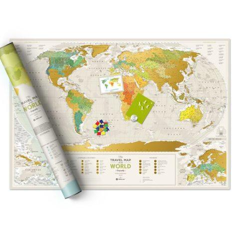 1dea Travel Map Geography World 004