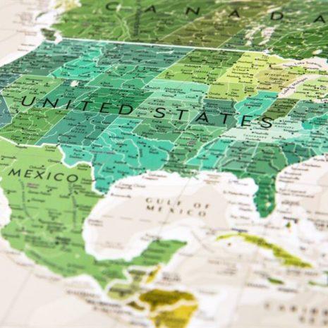 1dea Travel Map Geography World 008