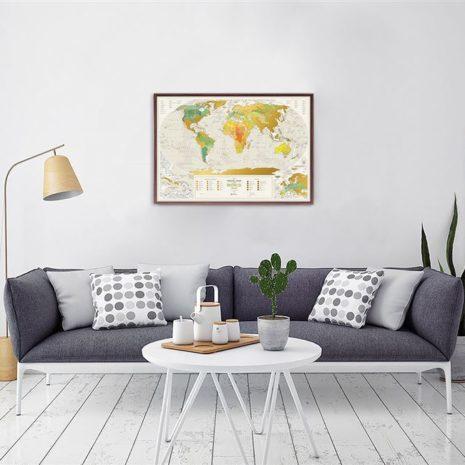 1dea Travel Map Geography World 009