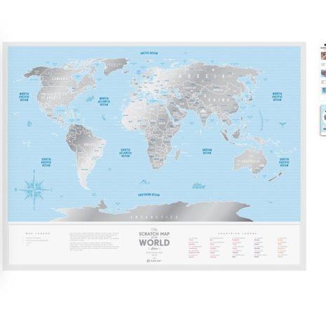 1dea Travel Map Silver World 003