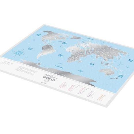 1dea Travel Map Silver World 006