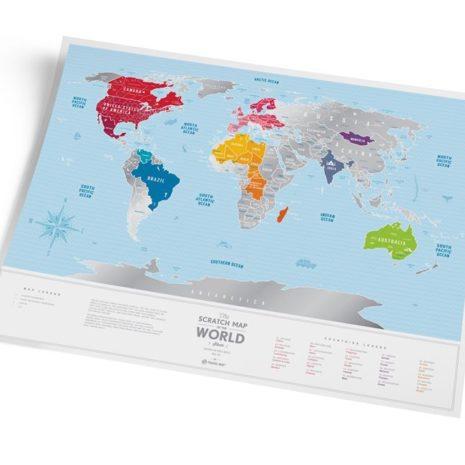 1dea Travel Map Silver World 007