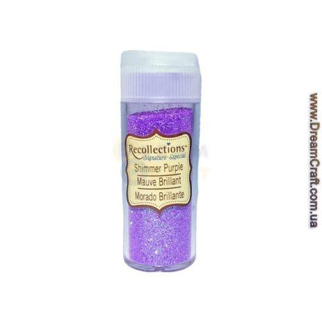 глиттер фиолетовый 013