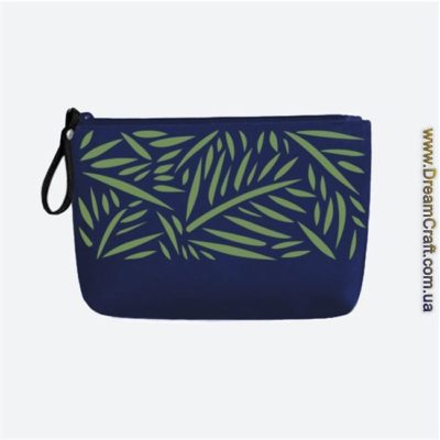 Косметичка Green Leaves 24х13 см