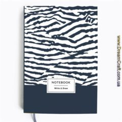 Блокнот Write&Draw Zebra 16х9,5 см