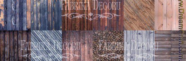 """Wood natural"", 30,5 x30,5 см, Фабрика Декору"