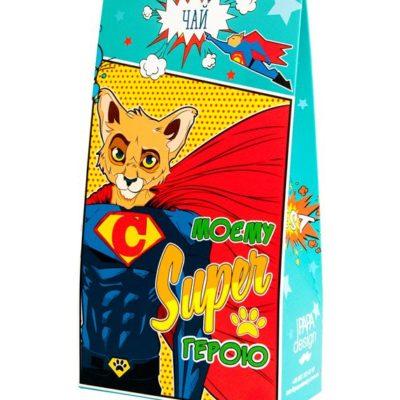 Чай в коробке «Моєму Super герою»