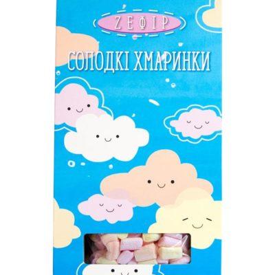 Зефир в коробке «Солодкі хмаринки»
