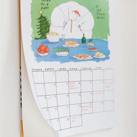 Календарь с гусем планер 006