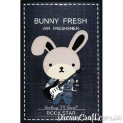 Ароматизатор Bunny Fresh ROCK STAR