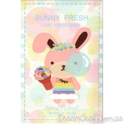 Ароматизатор Bunny Fresh BUBBLE GUM