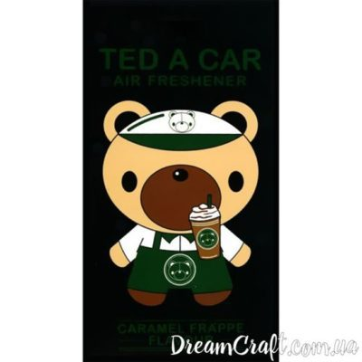 Ароматизатор Ted A Car CARAMEL