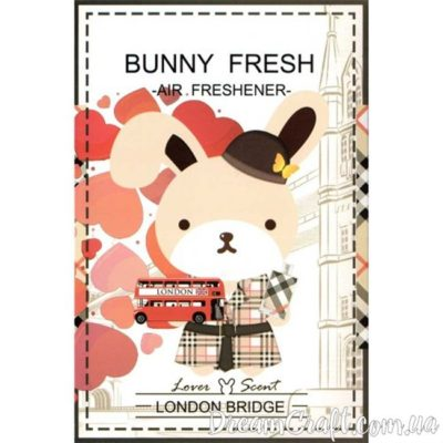Ароматизатор Bunny Fresh LONDON BRIDGE