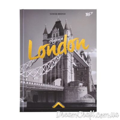 Блокнот 140*185/64 7БЦ «Gorjous London»  YES