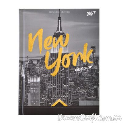 Блокнот А6/64 7БЦ «Gorjous New York» YES