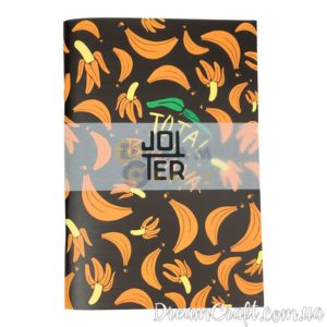 Скетчбук Jotter Bananas Black and Orange A5 скоба, 60стр.