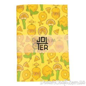 Скетчбук Jotter Lemon legs A5 скоба, 60стр.