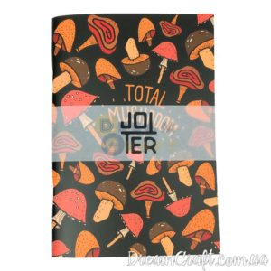 Скетчбук Jotter Mushrooms A5 скоба, 60стр.