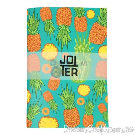 Скетчбук A5 Скоба Jotter pineapples