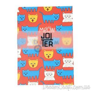 Скетчбук Jotter Cats meow A5 Термоклей, 100стр.