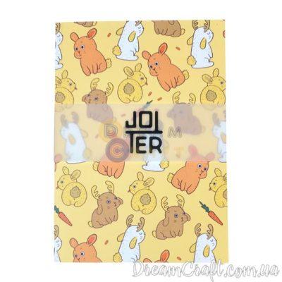 Скетчбук Jotter Bunnys A5 Термоклей, 100стр.