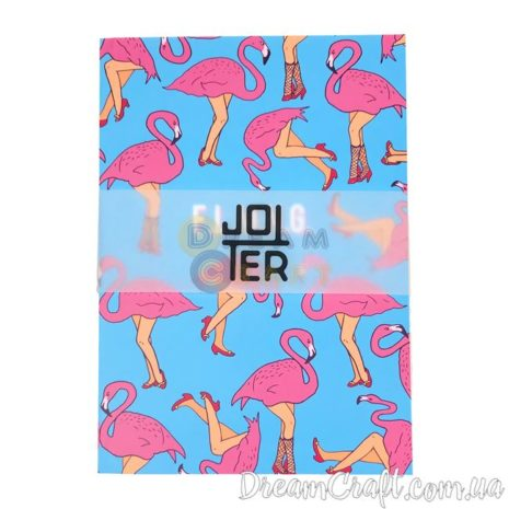 Скетчбук A5 склейка Jotter flamingo