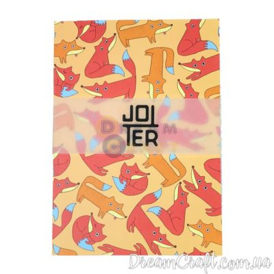 Скетчбук Jotter Foxes A5 Термоклей, 100стр.