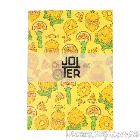 Скетчбук A5 склейка Jotter lemon legs