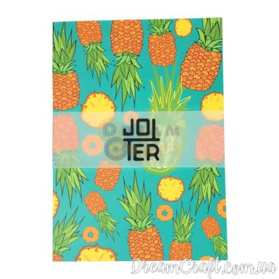 Скетчбук Jotter Pineapples A5 Термоклей, 100стр.