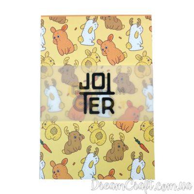 Скетчбук Jotter Bunnys A6 Термоклей, 100стр.