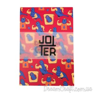 Скетчбук Jotter Golub power A6 Термоклей, 100стр.