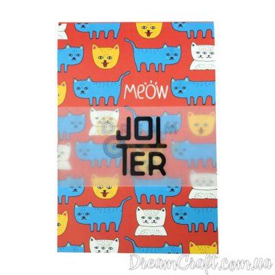 Скетчбук Jotter Cats meow A6 Термоклей, 100стр.