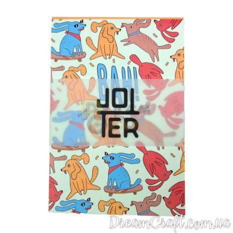Скетчбук A6 склейка Jotter lemon dogs life