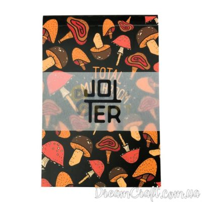 Скетчбук Jotter Total mushrooms A6 Термоклей, 100стр.