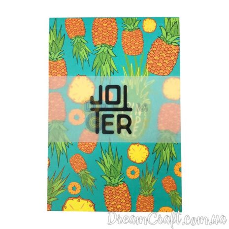 Скетчбук A6 склейка Jotter pineapple