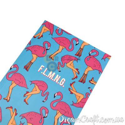 Скетчбук Jotter Flamingo A4 Термоклей, 100стр.