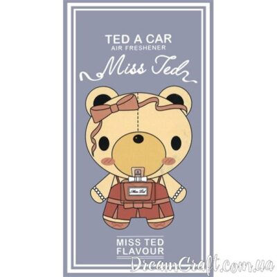 Ароматизатор Ted A Car MISS TED