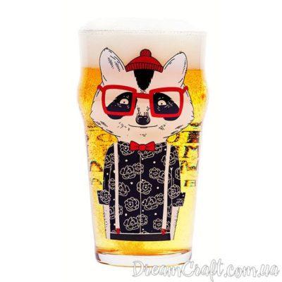 Пивной Бокал BeerMe Енот Англ. 0,5
