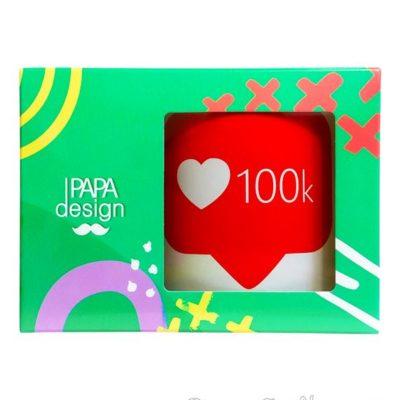 Чашка «100 k» 350 мл